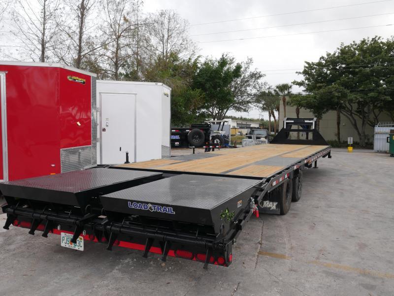 *FG78* 8.5x40 12 TON Deck Over Gooseneck Trailer |Flatbed Trailers 8.5 x 40 | FG102-40T12-FF