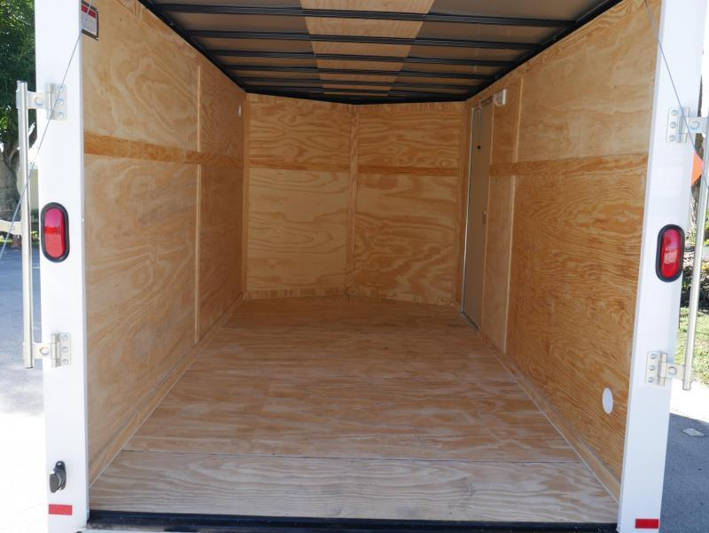*E8H* 7x14 Mower Trailer | 5 Yr Warranty Enclosed Cargo Trailer 7 x 14 | EV7-14T3-R
