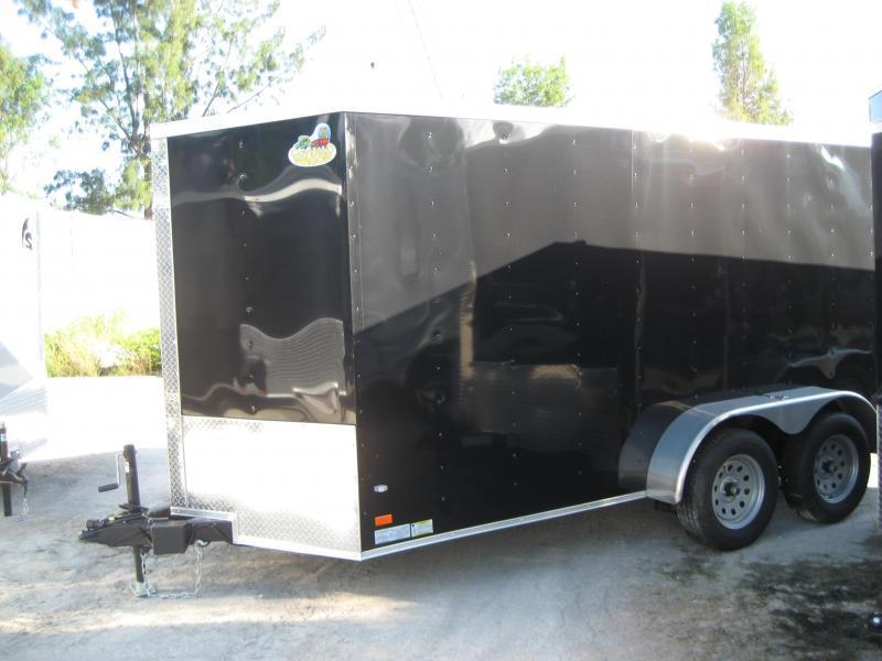 *E7* 6x14 Enclosed Trailer Cargo Tandem Axle Catering Trailers 6 x 14   EV6-14T3-R