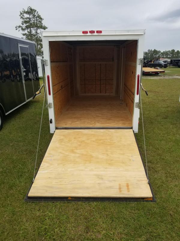*E3-BB* 6x10 Enclosed  Trailer Cargo Trailers 6 x 10 | EF6-10S3-R