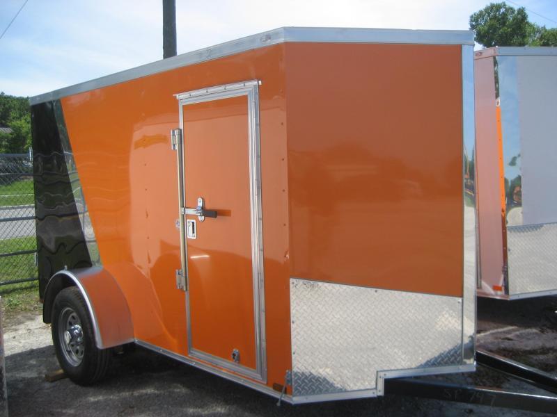 *E2* 5x10 Cargo Enclosed Trailer Catering Cargo Trailers 5 x 10   EV5-10S3-R
