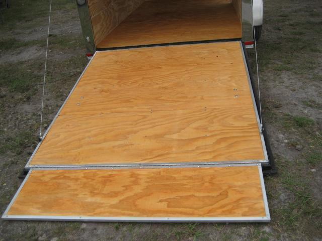 *E4D* 6x12 Enclosed Cargo Trailer LR Carpenter Trailers 6 x 12 | EV6-12S3-R