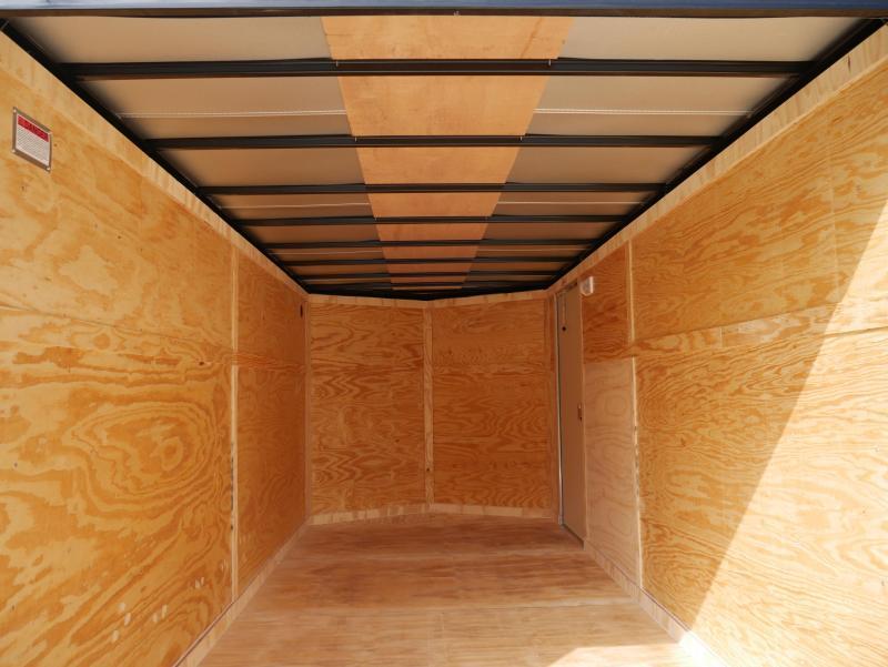 *E9K* 7x16 Enclosed Cargo Trailer Tandem Axle Hauler 7 x 16 | EV7-16T3-R