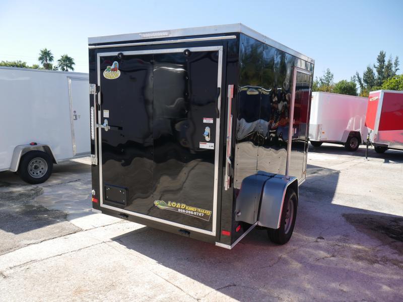 *E3E* 6x10 Enclosed Trailer | Cargo Trailers W/ Ramp #105664| 6 x 10 | EV6-10S3-R