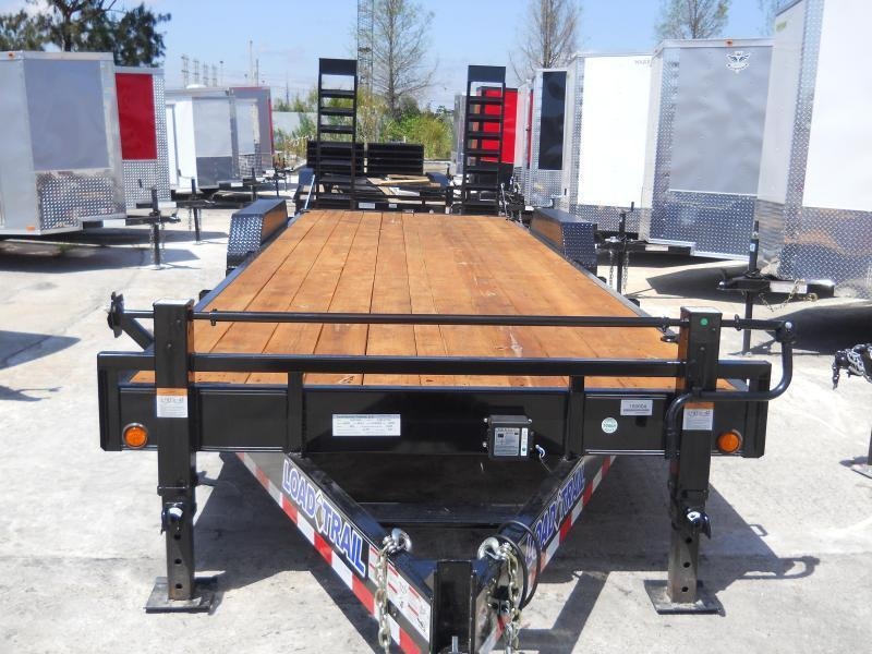 2019 Load Trail EQ83-24T7-KR Equipment Trailer