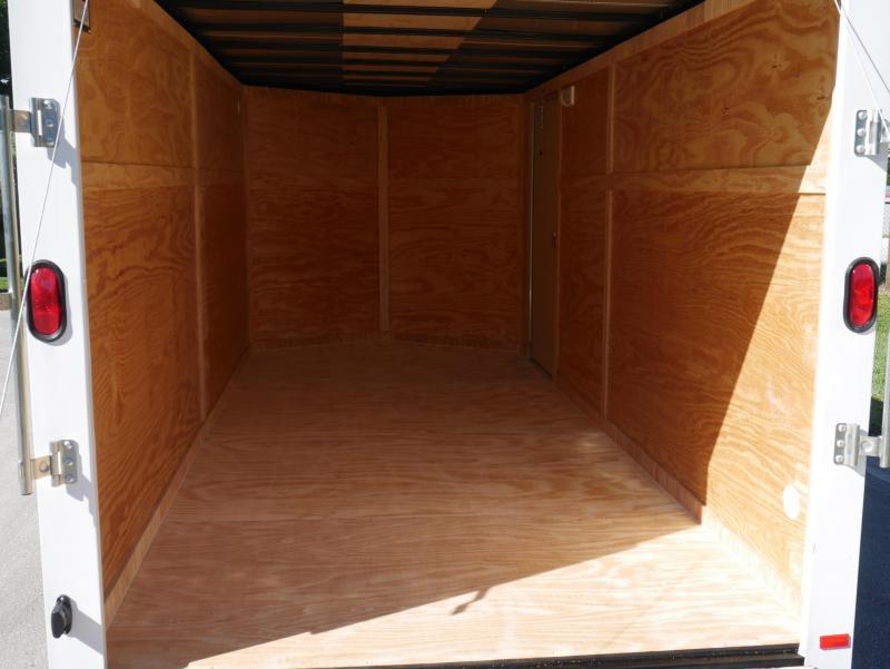 *E9G* 7x16 Enclosed Trailer Cargo Storage Trailers|105731| 7 x 16 | EV7-16T3-R