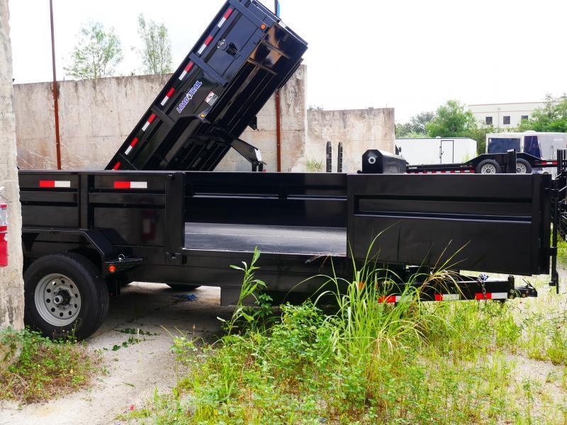 *DB26* 7x16 7 Ton Dump Trailer |Load Trail Dumps & Trailers 7 x 16 | D83-16T7-24S