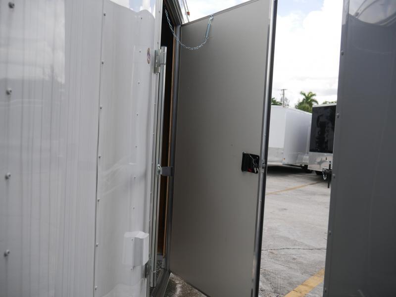 *E11G* 8.5x20 Cargo Enclosed Trailer Car Hauler W/Air Conditioning 8.5 x 20   EF8.5-20T5-R