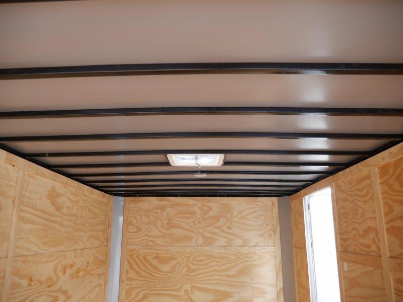 *E10E* 8.5x16 Enclosed Cargo Flat Nose Trailer Box Hauler 8.5 x 16 | EF8.5-16T3-R