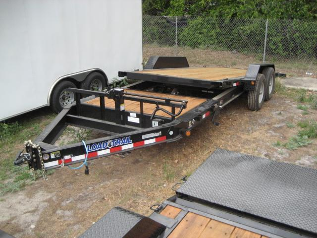 *T20* 7x16+4 Gravity Tilt Equipment Hauler Trailer 7 TON 7 x 16+4 | T83-16+4T7T-GT
