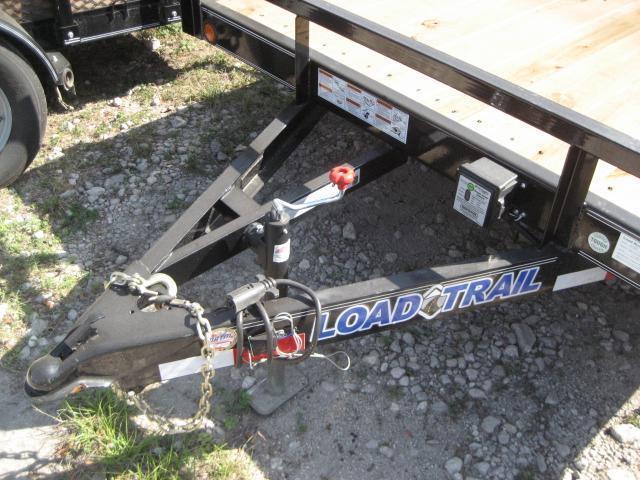 *H20* 7x20 Equipment Hauler Trailer 5 TON | Kicker Ramps 7 x 20 | EQ83-20T5-2B-KR