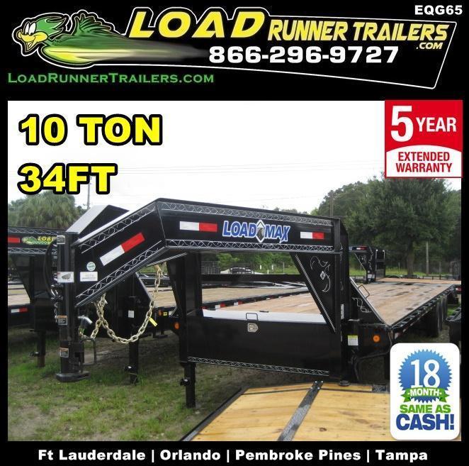2018 Load Trail EQG102-34TT7-DOF/KR Equipment Trailer