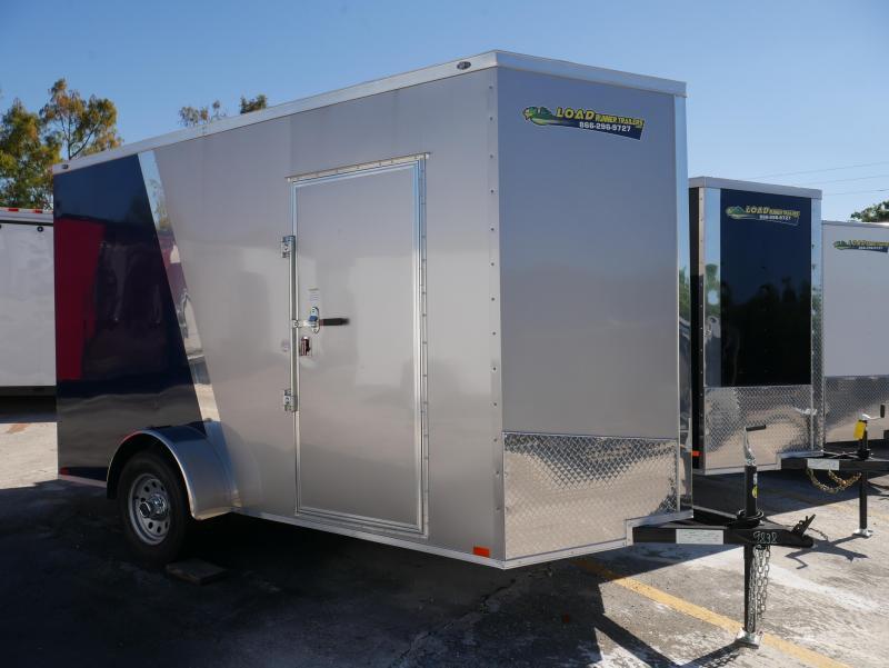 *E4L* 6X12  Enclosed Cargo Trailer |104751|LR Closed In Trailers 6 x 12 | EV6-12S3-R