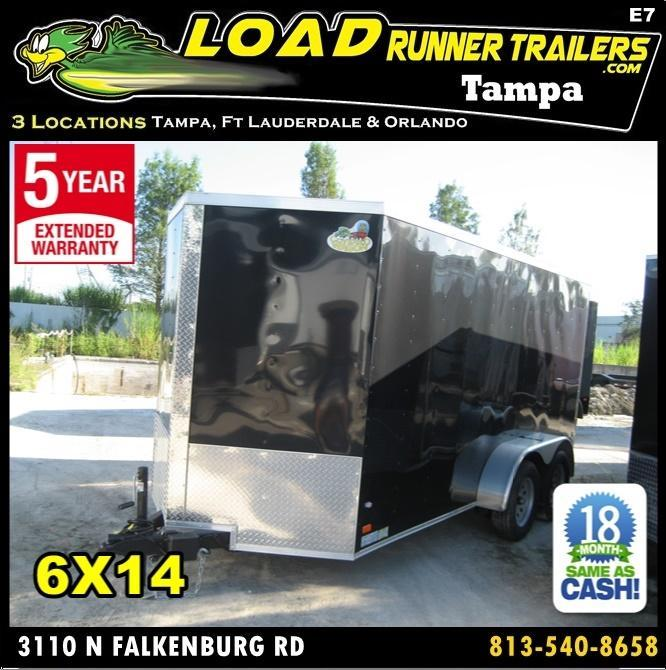 *E7* 6x14 Enclosed Trailer Cargo Tandem Axle Catering Trailers 6 x 14 | EV6-14T3-R in Ashburn, VA