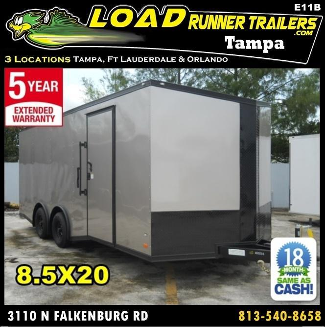 *E11B* 8.5x20 Hauler Enclosed Trailer TRAILERS Cargo 8.5 x 20 | EV8.5-20T3-R in Ashburn, VA