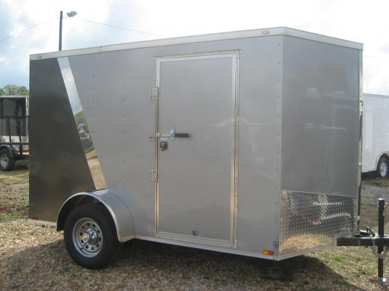 *E3* 6x10 Awesome Enclosed  Trailer BEST Cargo Trailers 6 x 10 | EV6-10S3-R