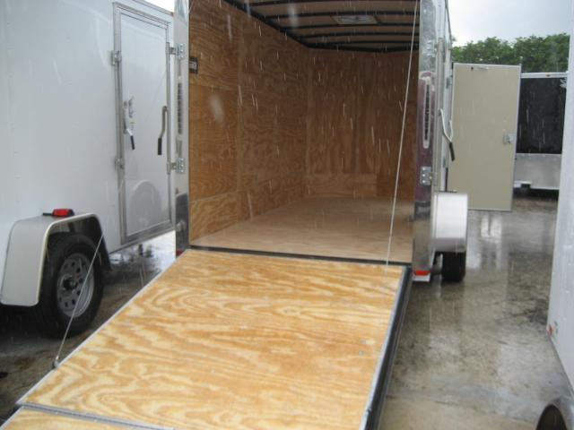 *E4F* 6x12 Enclosed Cargo Trailer Construction Trailers 6 x 12 | EV6-12S3-R