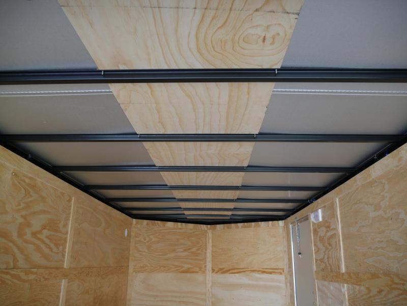 *E9F* 7x16 Enclosed Trailer Cargo Moving Trailers|105815| 7 x 16 | EV7-16T3-R