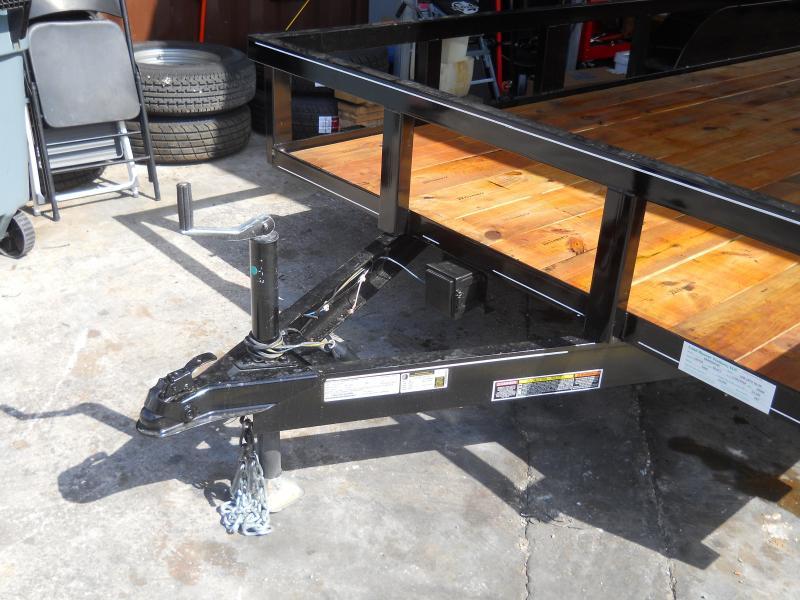 *U17* 7x18 Utility Trailer w/Tandem 3500# Axles w/Elec Brakes 7 x 18 | U82-18T3-1B-AR