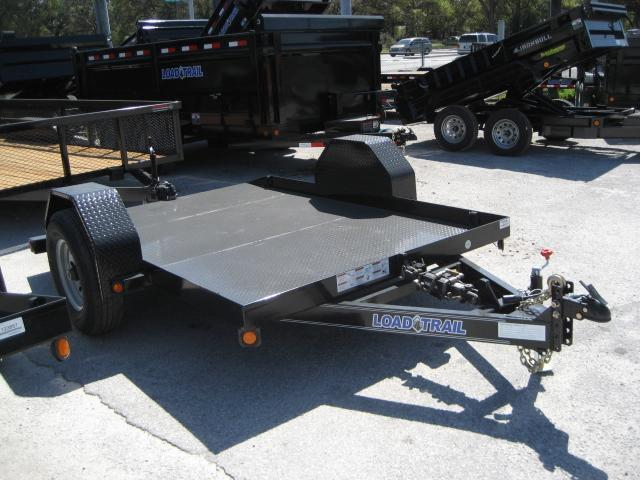 *T11* 6.5x10 Bobcat Hauler Tilt Deck 7K Torsion Axle 6.5 x 10 | T77-10ST7-SD/GT