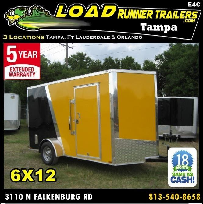 *E4C* 6x12 Cargo Enclosed Trailer  L R Painter Trailers 6 x 12 | EV6-12S3-R in Ashburn, VA