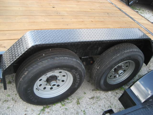 *EQ11* 7x16 7 TON Equipment & Car Hauler Trailer | LR Trailers 7 x 16 | EQ83-16T7-KR