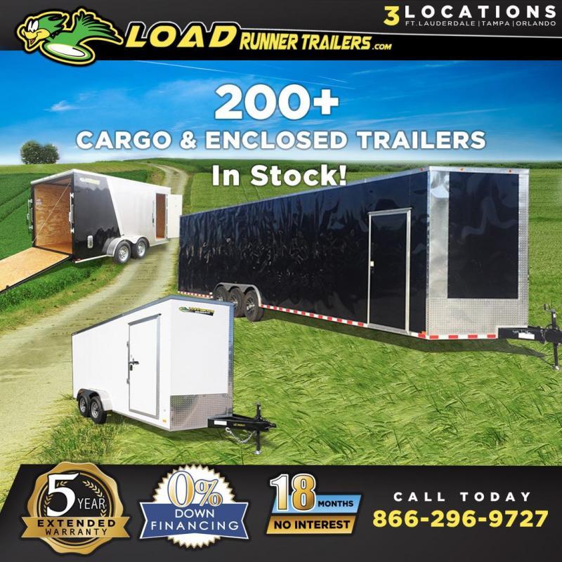 *E-INV* 200+ Enclosed Cargo Trailers | Car Hauler Trailer . | 3 FL Locations