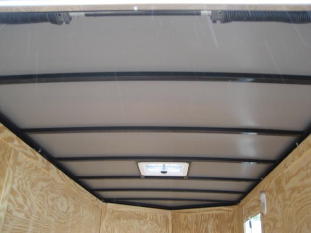 *E5B* 6x12 Enclosed Cargo Trailer Box Covered 6 x 12 | EV6-12T3-DD