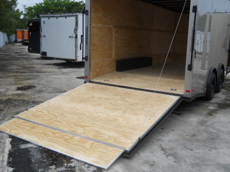 *E11B* 8.5x20 Hauler Enclosed Trailer TRAILERS Cargo 8.5 x 20 | EV8.5-20T3-R
