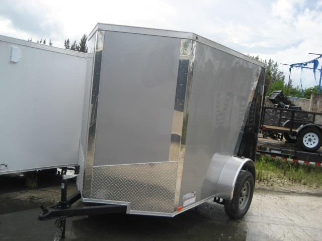 *E1E* 5x8 Enclosed Trailer  LR Trailers Cargo 5 x 8   EV5-8S3-R