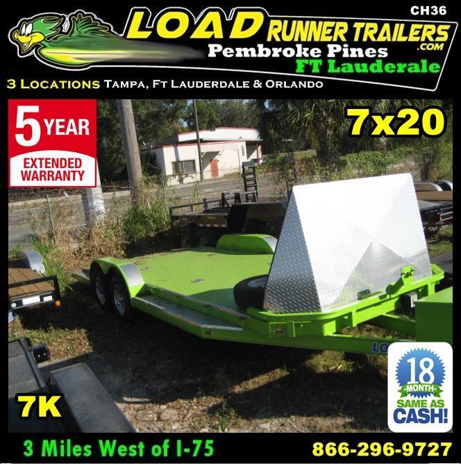 *CH36* 7x20 Sport Car Haulers LR Trailers  Hauler Trailer 7 x 20 | CH83-20T3-1B-SD-SPORT