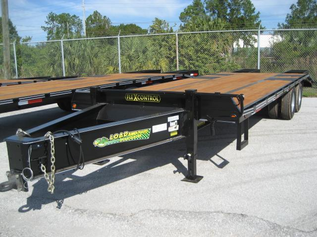 *FP17* 8.5x25 Flatbed Pintle Deck Over |Military Trailers 8.5 x 25 | FP102-25T10-FF