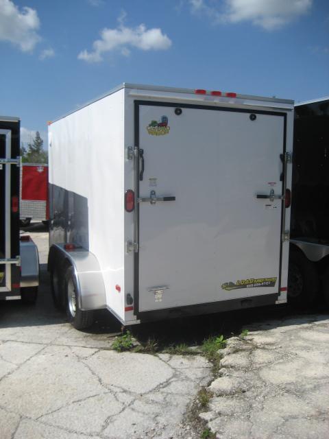 *E5* 6x12 Enclosed Cargo Trailer Box Covered 6 x 12 | EV6-12T3-DD