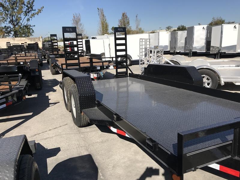 *BC1* 7x14 Bobcat Equipment Hauler Trailer|LR Trailers 7 x 14 | BC80-14T7-SD/KR