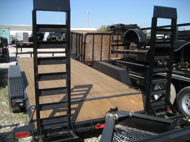 *H20* 7x20 Equipment Hauler Trailer 5 TON | Kicker Ramps | EQ83-20T5-2B-WD | 7 x 20