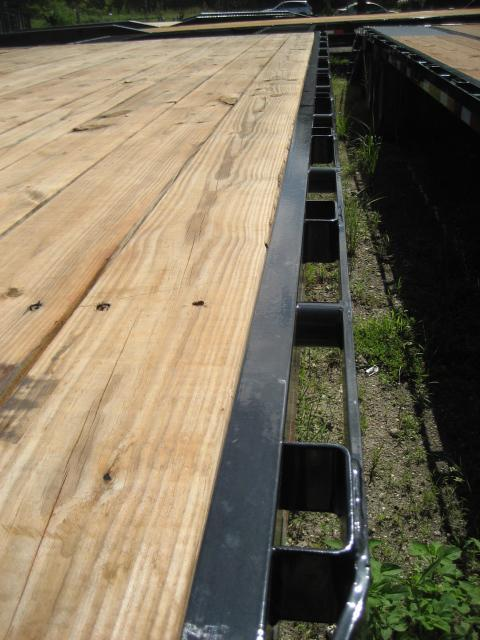 *FG43* 8.5x25  Flatbed Trailer w/ Ramps 7 TON Deck Over Trailers 8.5 x 25 | FG102-25T7-FF