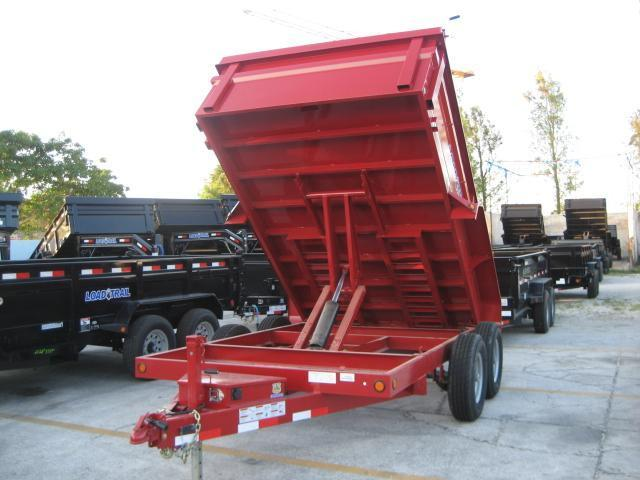 *D29* 7x12 7 TON Load Trail Dump Trailer 7 x 12 | D83-12T7-24Sr
