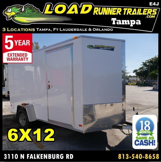 *E4J* 6x12 Enclosed Trailer Cargo | Blowout Trailers | 105332 6 x 12 | EV6-12S3-R in Ashburn, VA