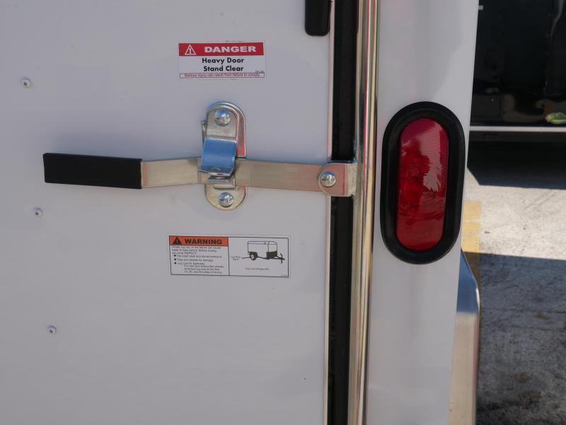 *E4J* 6x12 Enclosed Trailer Cargo   Blowout Trailers   105332 6 x 12   EV6-12S3-R