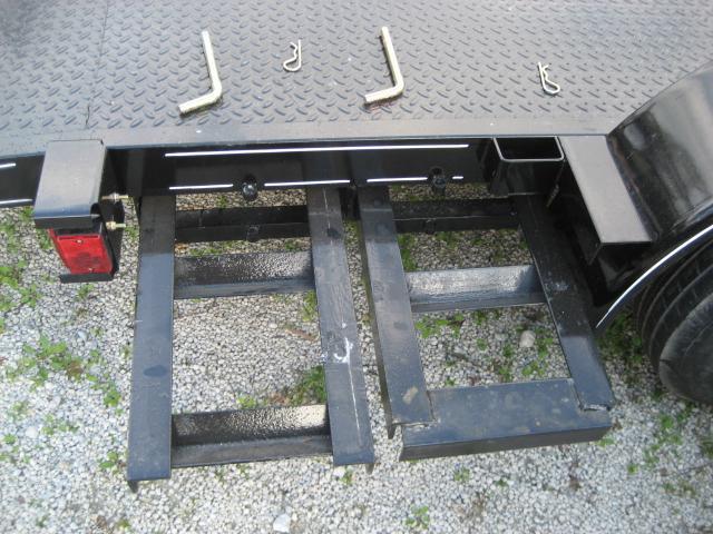 *H54* 7x18 Car Hauler Steel Deck Trailer Tandem 5200# Axles 7 x 18 | CH82-18T5-2B-SD