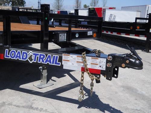 *H16* 7x18 Car Hauler Trailer Load Trail 5 TON Trailers 7 x 18   CH83-18T5-2B