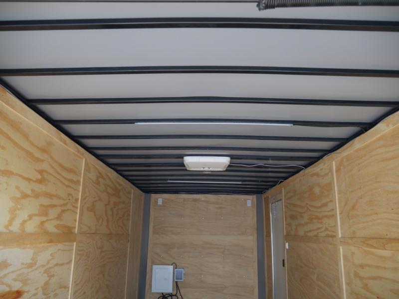 *E11G* 8.5x20 Cargo Enclosed Trailer Car Hauler W/Air Conditioning 8.5 x 20 | EF8.5-20T5-R