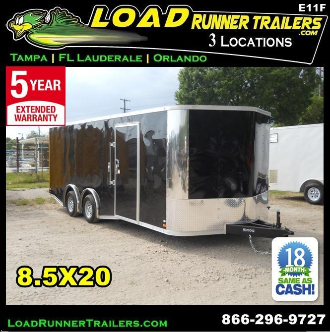 *E11F* 8.5x20 Enclosed Cargo Trailer Cargo Trailers 8.5 x 20 | EV8.5-20T3-R in Ashburn, VA