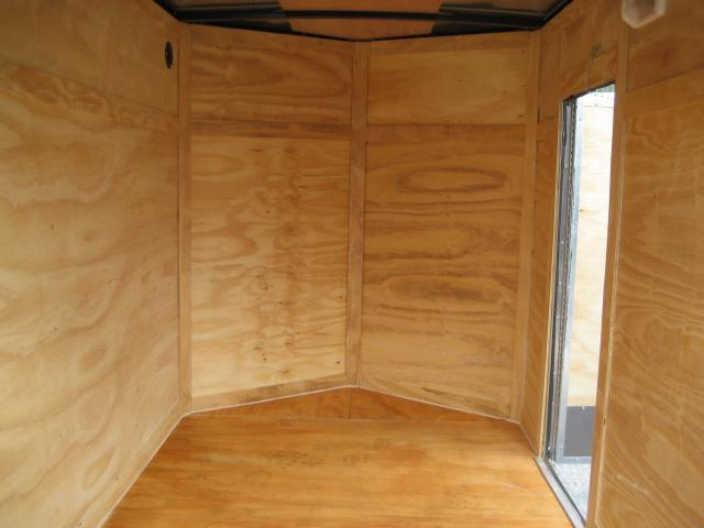 *E1B* 5x8 Enclosed  Trailer L R Cargo Box Trailers 5 x 8 | EV5-8S3-DD