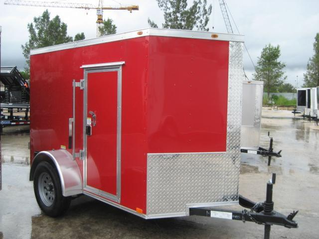 *E1B* 5x8 Enclosed  Trailer Motorcycle Box Trailers 5 x 8 | EV5-8S3-D