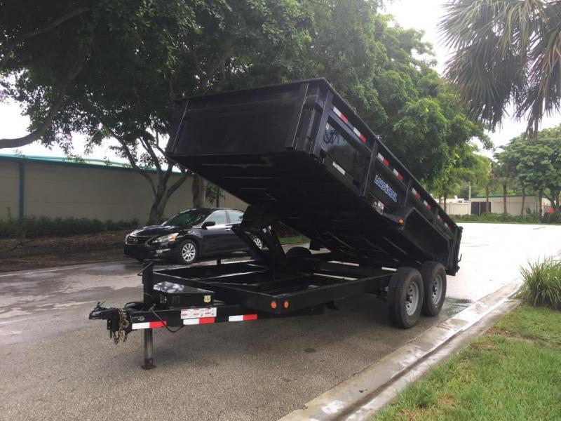 *DBU26* 7x16 7 Ton Dump Trailer  Load Trail Dumps & Trailers 7 x 16   D83-16T7-24S in Ashburn, VA