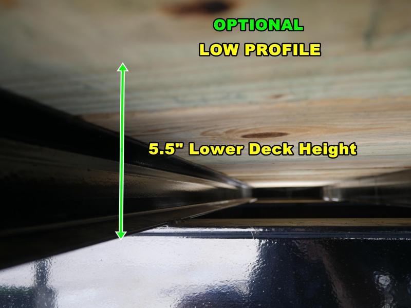 *FG15* 8.5x36 Flatbed Gooseneck Deck Over Trailer 10 TON|20K Trailers 8.5 x 36 | FG102-36T10-FF