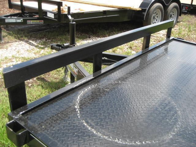 *CH17* 7x20 7K Steel Deck Car Hauler Trailer LR Haulers & Trailers 7 x 20   CH82-20T3-1B-SD