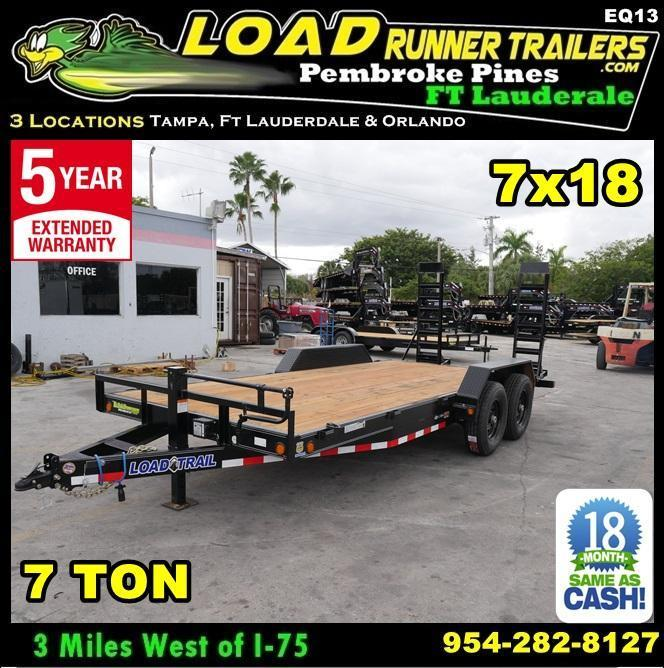 2019 Load Trail EQ83-18T7-KR Equipment Trailer