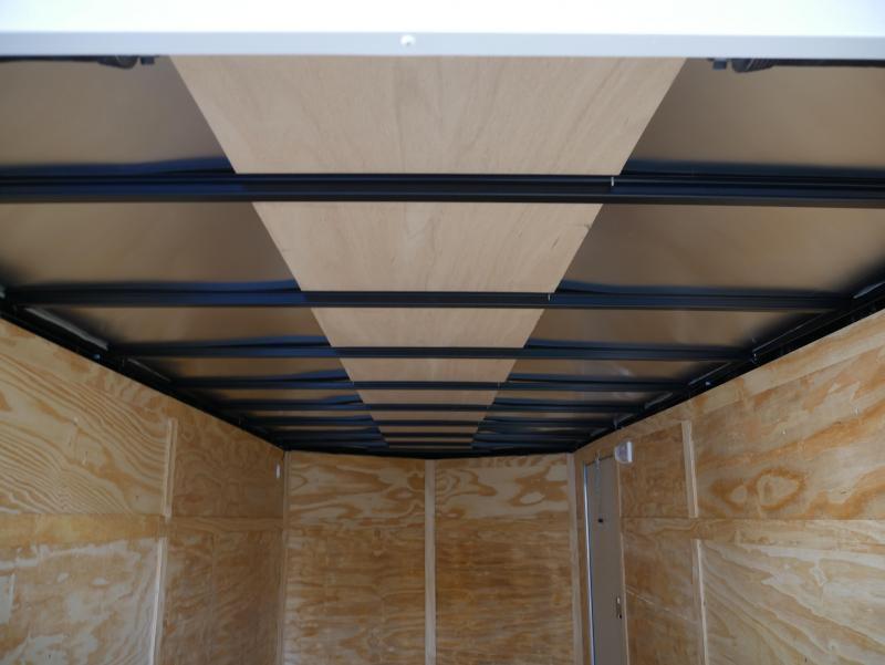 *E9* 7x16 Enclosed Trailer Cargo Tandem Axle Trailers 7 x 16 | EV7-16T3-R